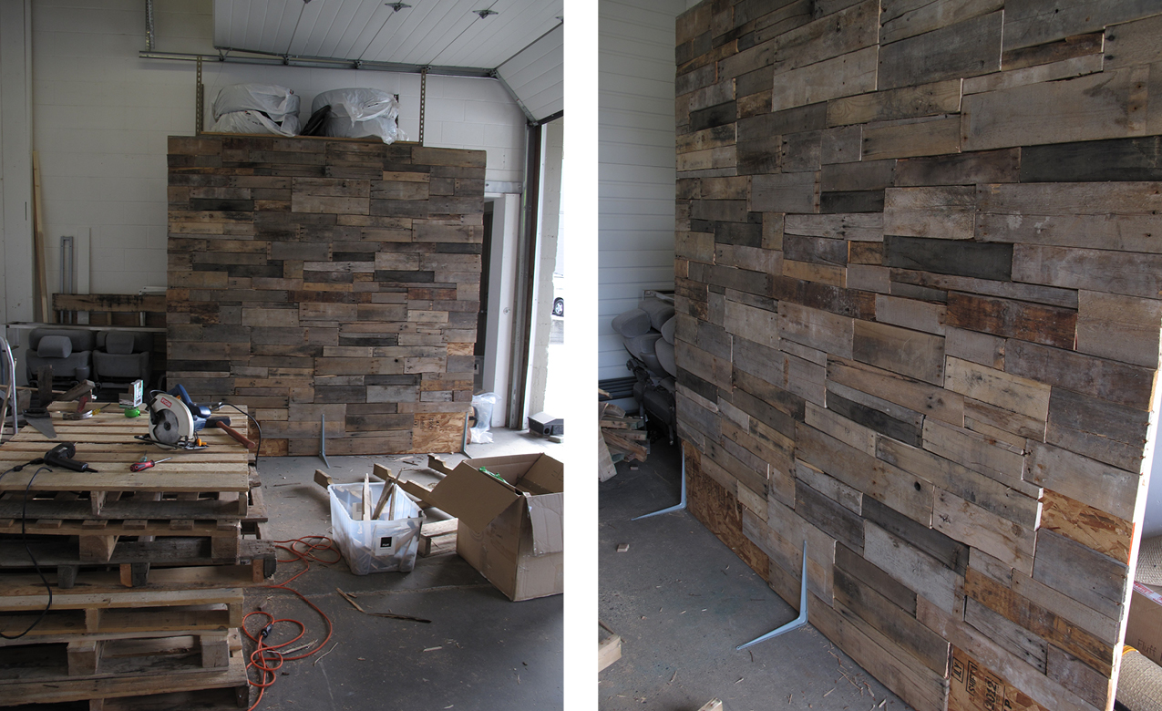 Shanes World How to Build A Pallet Wall Flff Design and Decor